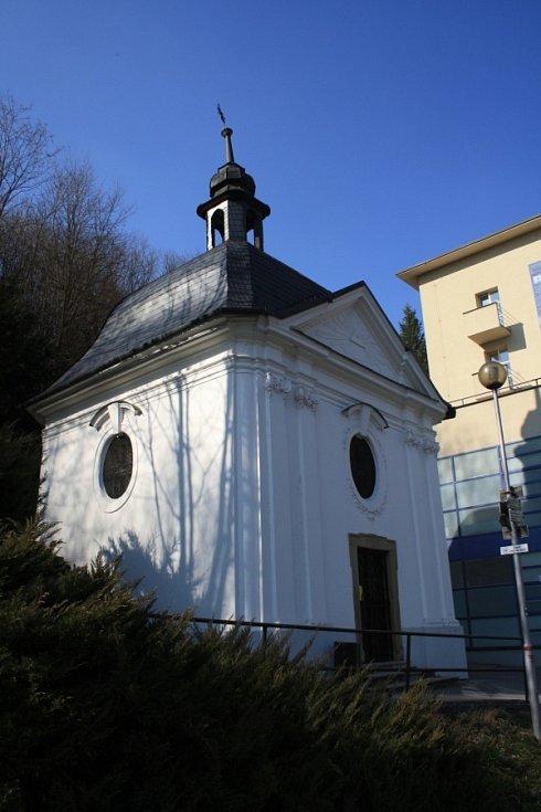 Lázeňská kaple v Teplicích nad Bečvou.