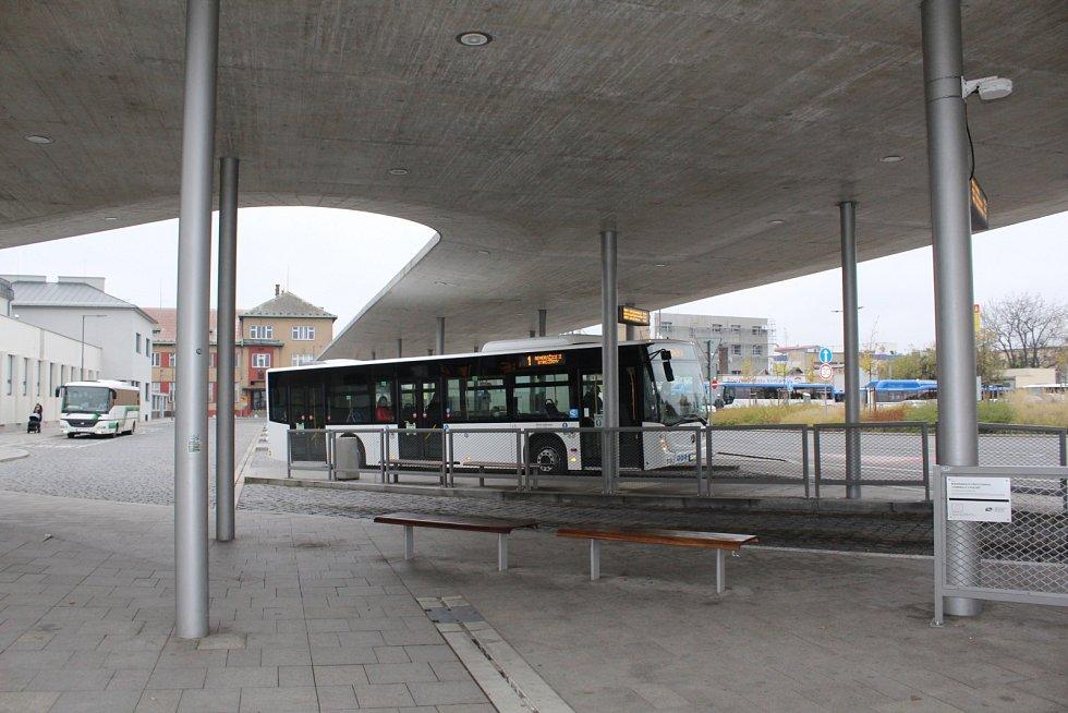 Přestavba autobusového nádraží v Kolíně