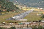 Letiště Paro, Bhútán