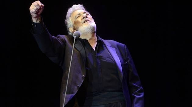 Španělský tenorista Plácido Domingo