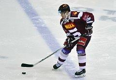 František Ptáček v dresu hokejové Sparty