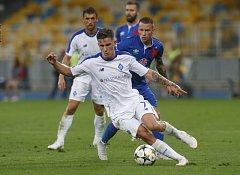 Zápas mezi Slavií Praha a Dynamem Kyjev skončil pro slávisty prohrou 0:2.