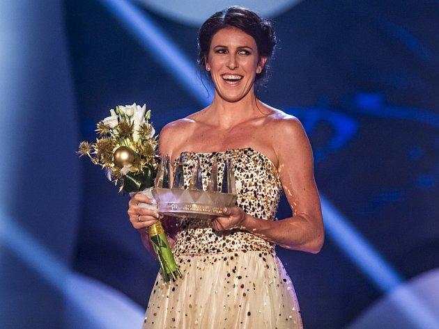 Mistryně světa a vítězka Diamantové ligy překážkářka Zuzana Hejnová se stala Sportovcem roku 2015.