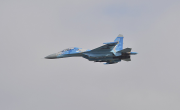 Stíhací letoun Su-27 z Ukrajiny. Ilustrační foto