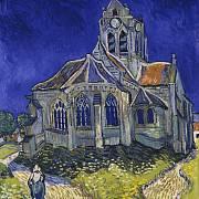 Kostel v Auvers-sur-Oise