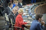 Summitu NATO se první den účastnil i český prezident Miloš Zeman