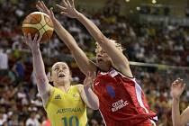 České basketbalistky prohrály s Austrálií 46:79.