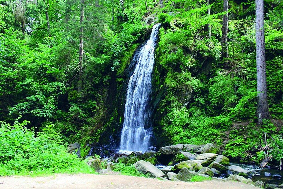 Terčino údolí: Romantický přírodní park v údolí řeky Stropnice založil pro svou manželku Terezii v polovině osmnáctého století hrabě Jan Nepomuk Buquoy.