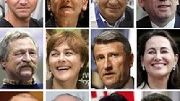 V prvním kole francouzských prezidentských voleb o přízeň voličů bojuje 12 kandidátů. Jen 4 ale mají opravdovou šanci.