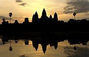 Kambodžský chrám Angkor Vat