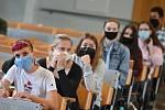 Studentky Mendelovy univerzity. Ilustrační foto