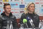 Pavel Maslák a Barbora Špotáková