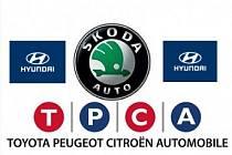 automobilky v Česku