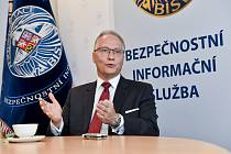 Ředitel Bezpečnostní informační služby (BIS) Michal Koudelka