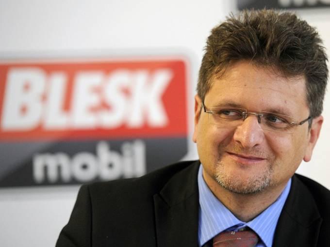 Bývalý šéfredaktor Blesku Pavel Šafr.