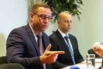 Brno 4.9.2019 - Nejvyšší státní zástupce JUDr. Pavel Zeman na briefingu ke kauze Čapí hnízdo