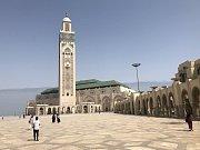 Krásná architektura. Dominantou Casablanky je mešita Hassana II., která patří k největším mešitám na světě a je přístupná i turistům.