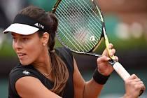 Ana Ivanovičová na French Open.