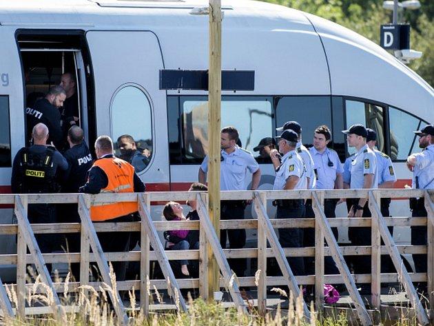 Nadále nefunguje vlakové spojení mezi německým ostrovem Fehmarn a dánským městem Rödby na ostrově Lolland.