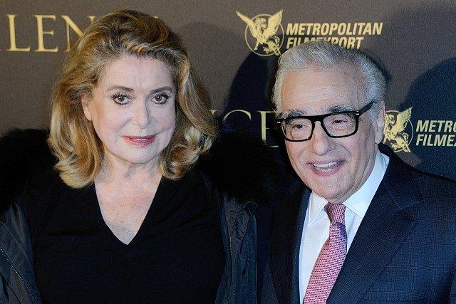 Catherine Deneuveová s režisérem Martinem Scorsesem