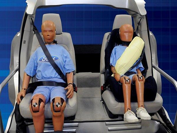 Nafukovací bezpečnostní pás
