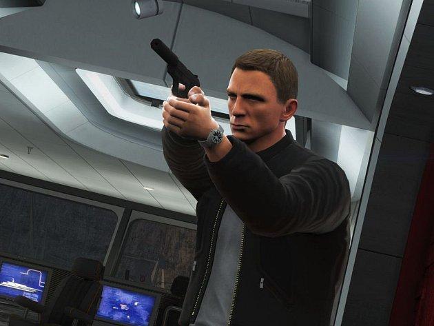 James Bond z počítačové hry Bloodstone.