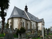 tajemný velhartický hřbitov