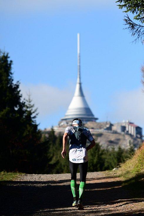 Ještědský půlmaraton 2018.
