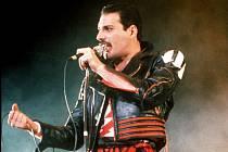 Slavný zpěvák Freddie Mercury