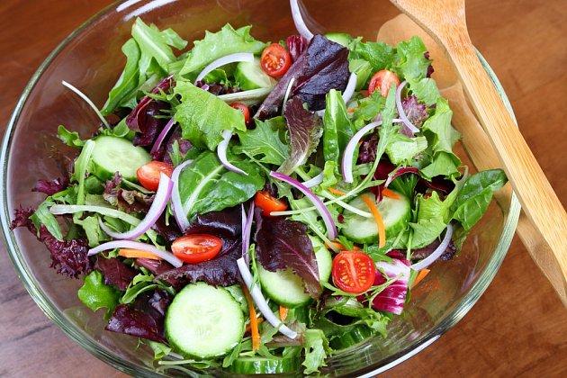Mizuna obohatí každý salát