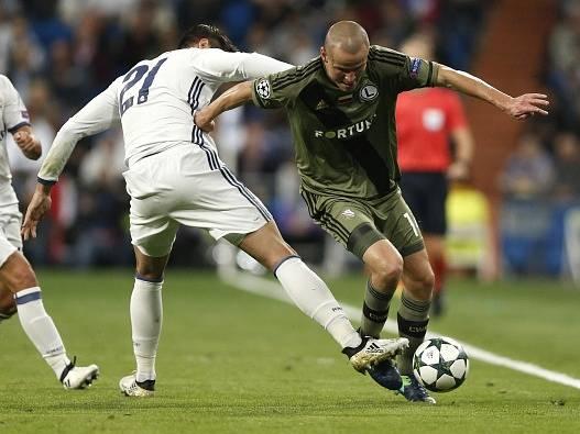 Real Madrid - Legia Varšava 5:1