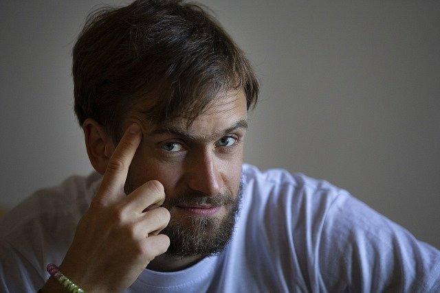 Ruský aktivista Pjotr Verzilov z Pussy Riots.