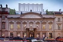 Současná podoba paláce Špork v pražské Hybernské ulici