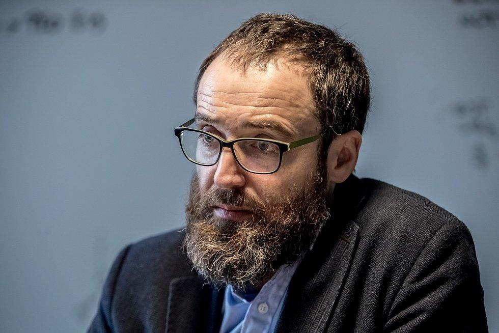 Vedoucí katedry počítačů Fakulty elektrotechnické ČVUT prof. Michal Pěchouček.
