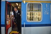 Vlak Českých drah. Ilustrační foto