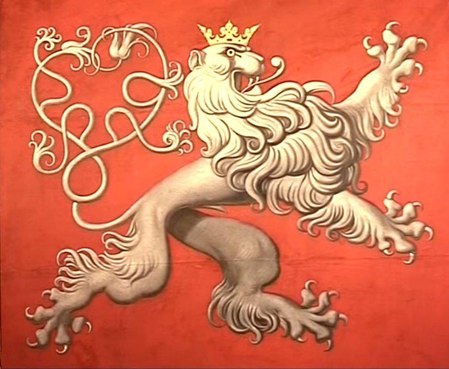 Romantizovaná podoba českého lva, pocházející pravděpodobně z 19. století