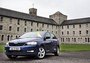 Škoda Rapid, určená pro papežovu návštěvu Irska