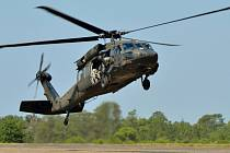 Americká armáda přišla v Jemenu o jeden vrtulník Sikorski UH-60 Black Hawk.