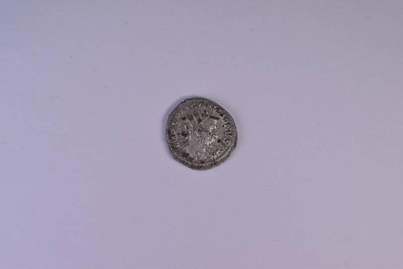 Nález antoninanu římského císaře Galliena (vládl mezi léty 253 až 268)