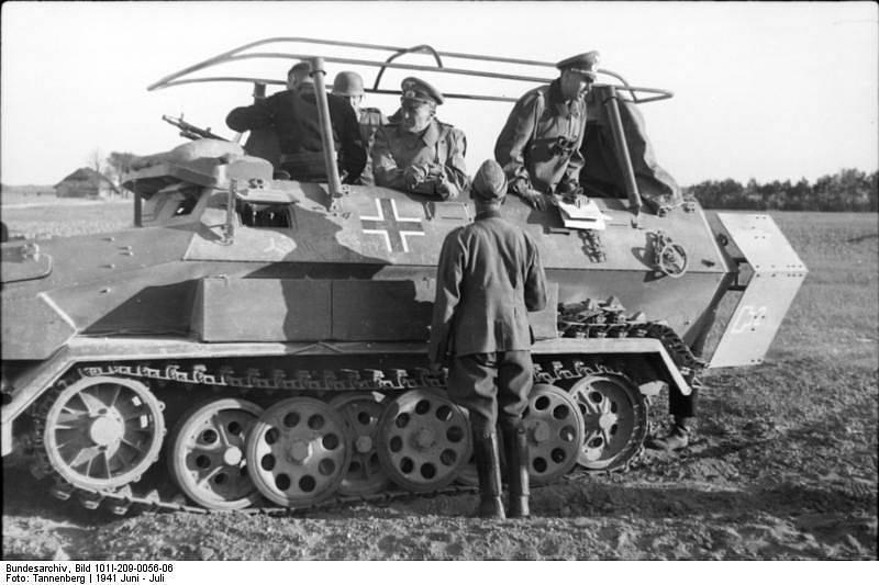 Vojáci německé 1. tankové divize