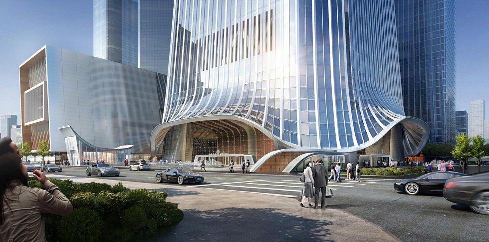 CITIC Tower měří úctyhodných 528 metrů a v celkovém žebříčku nejvyšších mrakodrapů světa zaujímá devátou příčku
