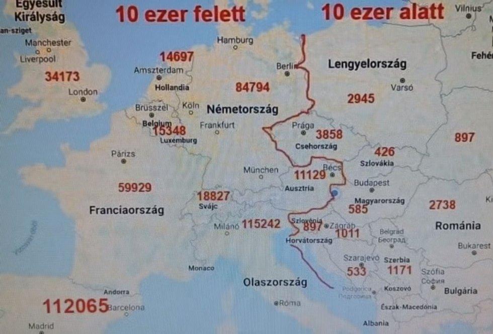 Proč se koronavirus šířil víc v západní Evropě než ve východní? Podle konspirátorů je odpovědí tamější větší pokrytí sítí 5G
