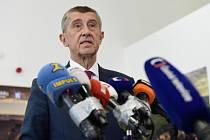 Premiér a předseda ANO Andrej Babiš
