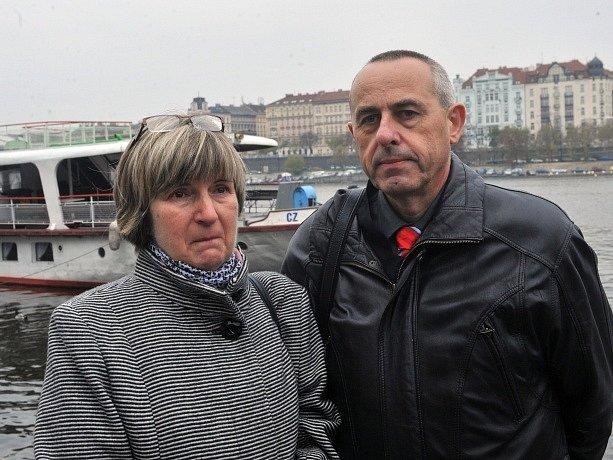 Hana Buchtová a její manžel Miloslav