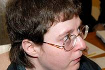 Barbora Škrlová u brněnského krajského soudu v roce 2008.