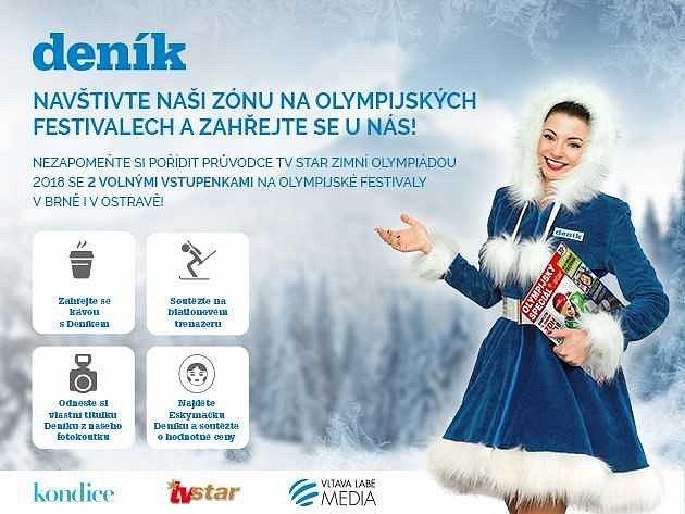 Deník se zúčastní olympijských festivalů