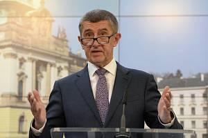 Český premiér Andrej Babiš (ANO).