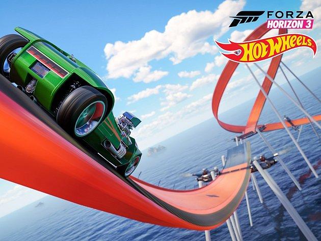 Počítačová hra Forza Horizon 3 Hot Wheels.