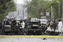 Po výbuchu ve vládní a diplomatické čtvrti Kábulu