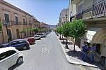 Malebné ulice sicilské Sambucy